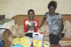 Sa famille a ainsi pu lui acheter de la nourriture et des médicaments appropriés.