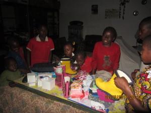 Visite d'un orphelinat à Yaoundé en 2014
